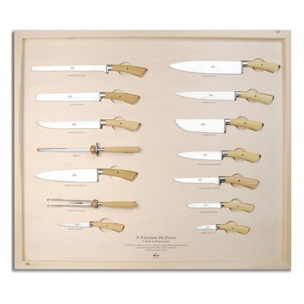 Coltellerie Berti - 1895 - The Complete Carving Machine - N. 2733 - Exclusive Artisan Knives - Handmade in Italy