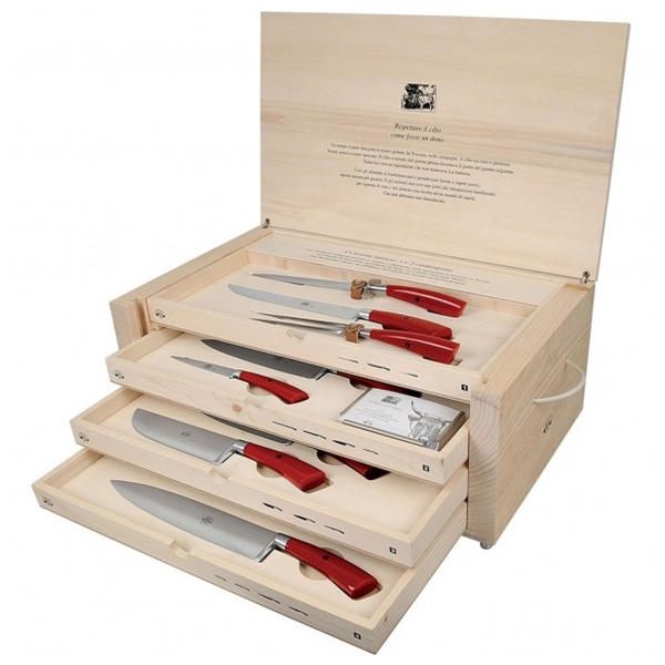 Coltellerie Berti - 1895 - The Complete Carving Machine - N. 2633 - Exclusive Artisan Knives - Handmade in Italy