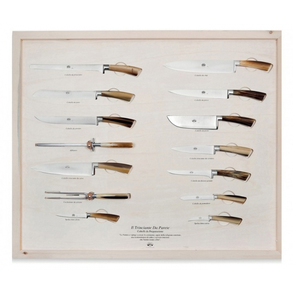 Coltellerie Berti - 1895 - The Wall Carving Machine - N. 2739 - Exclusive Artisan Knives - Handmade in Italy
