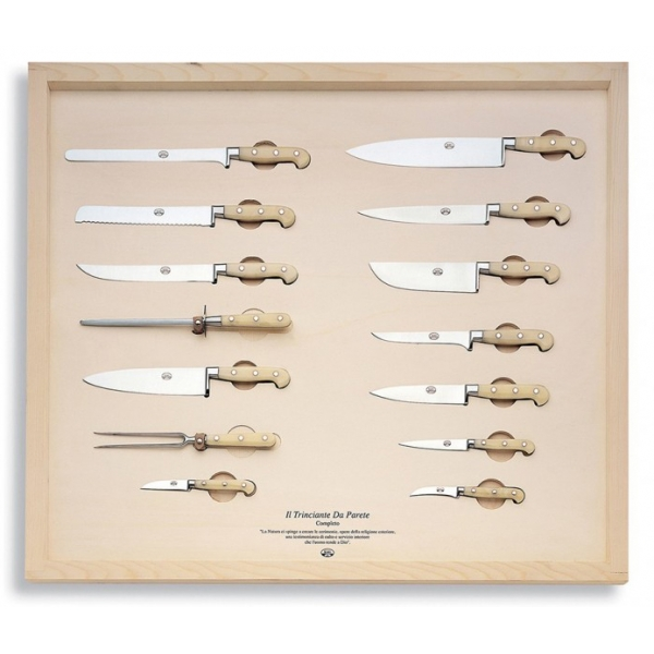 Coltellerie Berti - 1895 - The Complete Wall Carving Machine - N. 939 - Exclusive Artisan Knives - Handmade in Italy