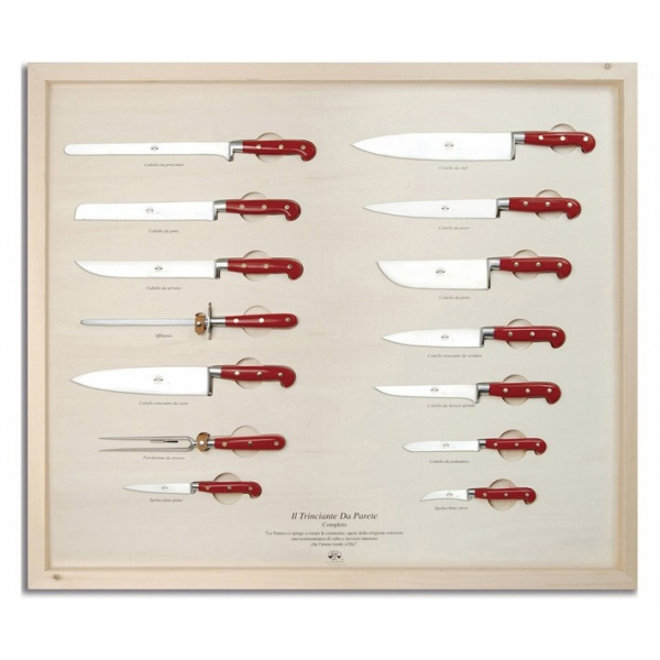 Coltellerie Berti - 1895 - The Complete Wall Carving Machine - N. 2429 - Exclusive Artisan Knives - Handmade in Italy