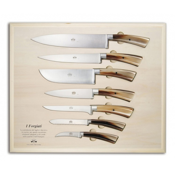 Coltellerie Berti - 1895 - Su Misura Trinciante Preparazione Ctp - N. 4115 - Coltelli Esclusivi Artigianali - Handmade in Italy