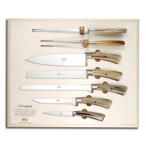 Coltellerie Berti - 1895 - Su Misura Trinciante Servizio Ctp - N. 4110 - Coltelli Esclusivi Artigianali - Handmade in Italy