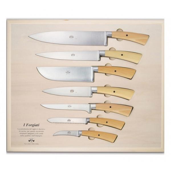 Coltellerie Berti - 1895 - Su Misura Trinciante Preparazione Ctp - N. 4215 - Coltelli Esclusivi Artigianali - Handmade in Italy