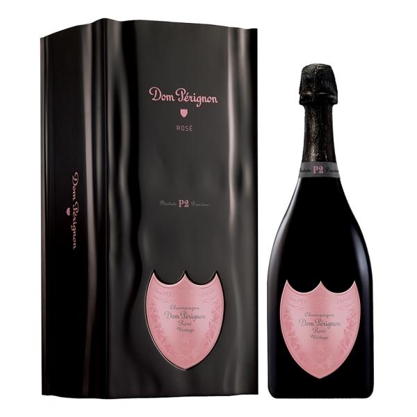Dom Pérignon - Rosé 1996 - Plénitude 2 - P2 - Cassa Coffret - Champagne - Pinot Noir - Chardonnay - Luxury Limited Edition - 750