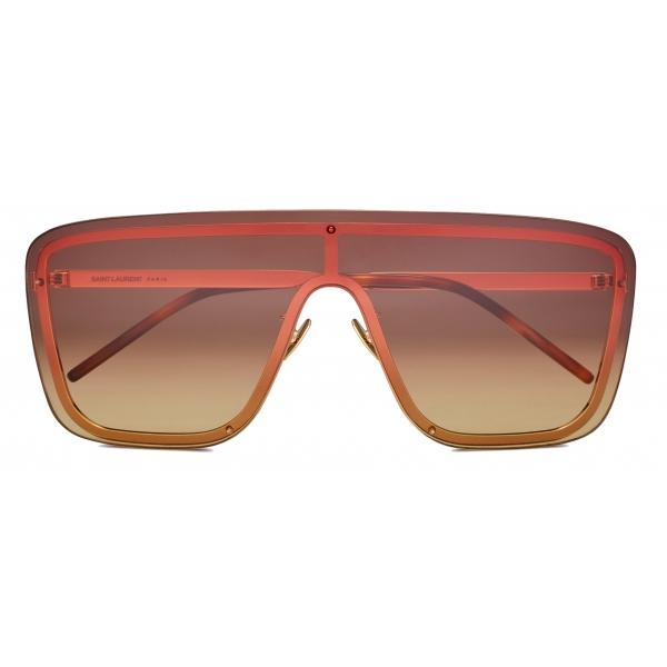 Yves Saint Laurent - Occhiali da Sole Mascherina SL 364 - Oro - Saint Laurent Eyewear