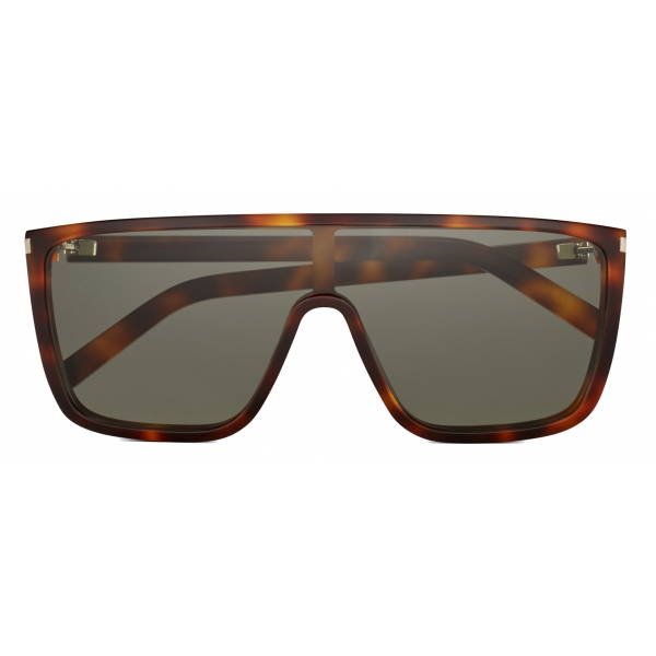 Yves Saint Laurent - Occhiali da Sole Mascherina SL 364 - Argento Ossidato - Saint Laurent Eyewear