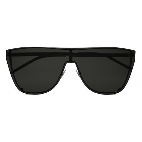 Yves Saint Laurent - Occhiali da Sole Mascherina SL 1 - Argento - Saint Laurent Eyewear