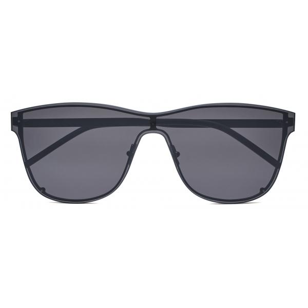 Yves Saint Laurent - Occhiali da Sole a Mascherina SL 51 - Nero - Saint Laurent Eyewear