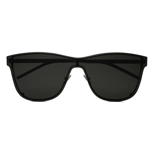 Yves Saint Laurent - Occhiali da Sole a Mascherina SL 51 - Nero - Saint Laurent Eyewear
