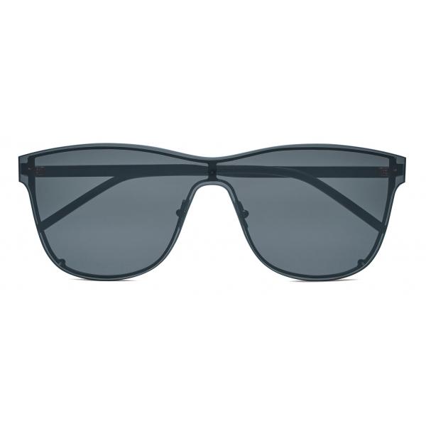 Yves Saint Laurent - Occhiali da Sole a Mascherina Oversize SL 51 - Argento - Saint Laurent Eyewear