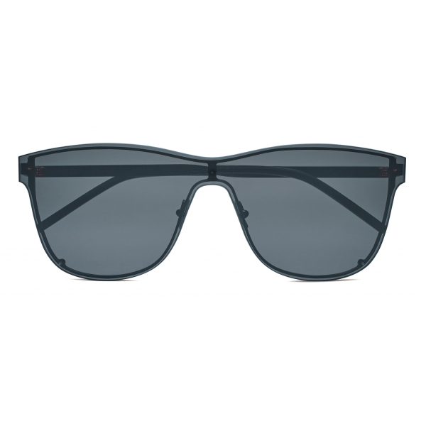 Yves Saint Laurent - Oversized SL 51 Shield Sunglasses - Black - Sunglasses - Saint Laurent Eyewear