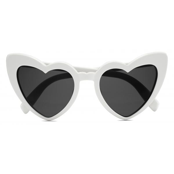 Yves Saint Laurent - New Wave SL 181 Loulou Sunglasses - Ivory - Sunglasses - Saint Laurent Eyewear