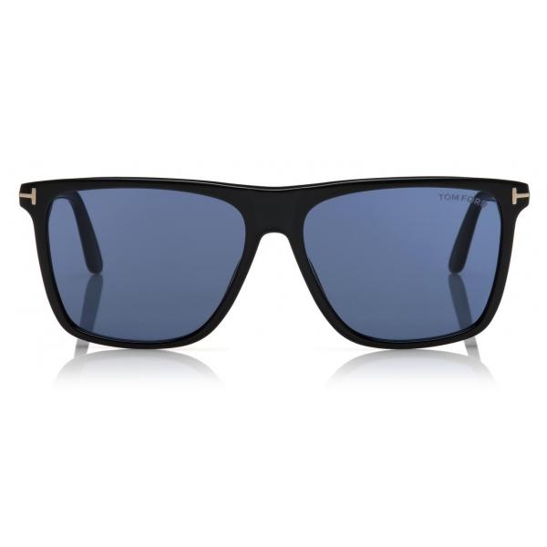 Tom Ford - Milla Polarized Sunglasses - Occhiali da Sole Rotondi - Oro Rosa Blu - FT0784-P - Occhiali da Sole - Tom Ford Eyewear