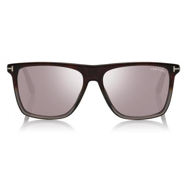 Tom Ford - Fletcher Sunglasses - Occhiali da Sole Quadrati - Nero - FT0832 - Occhiali da Sole - Tom Ford Eyewear