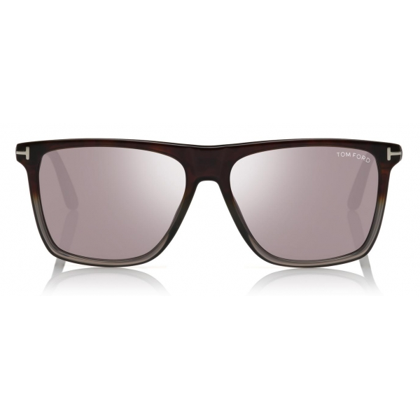 Tom Ford - Fletcher Sunglasses - Square Sunglasses - Black - FT0832 - Sunglasses - Tom Ford Eyewear