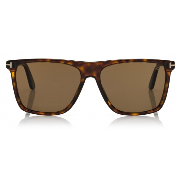 Tom Ford - Fletcher Sunglasses - Square Sunglasses - Gradient Havana - FT0832 - Sunglasses - Tom Ford Eyewear