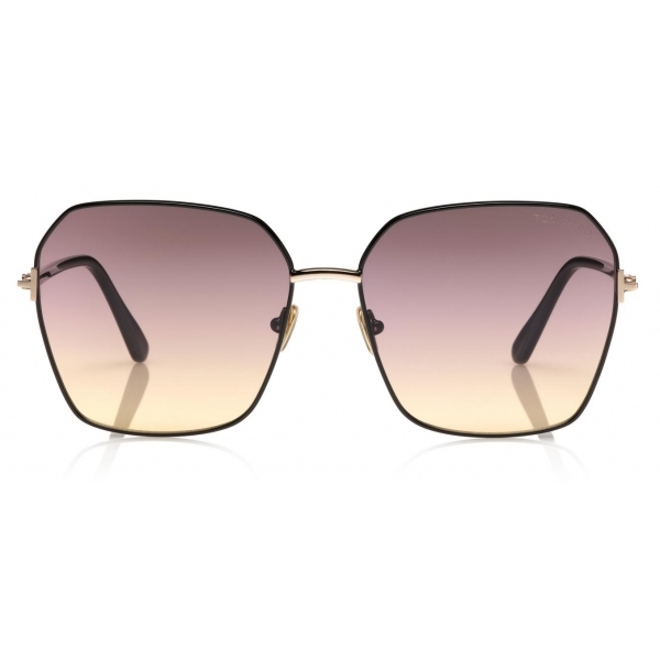 Tom Ford - Fletcher Sunglasses - Square Sunglasses - Havana - FT0832 - Sunglasses - Tom Ford Eyewear