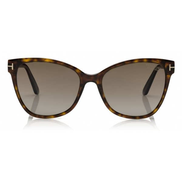 Tom Ford - Claudia Sunglasses - Square Sunglasses - Dark Havana - FT0839 - Sunglasses - Tom Ford Eyewear