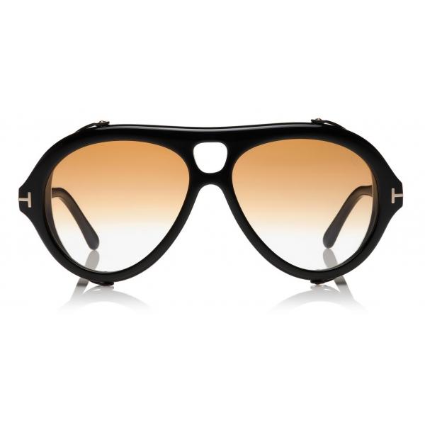 Tom Ford - Nickie Sunglasses - Occhiali da Sole a Farfalla - Oro Rosa - FT0842 - Occhiali da Sole - Tom Ford Eyewear