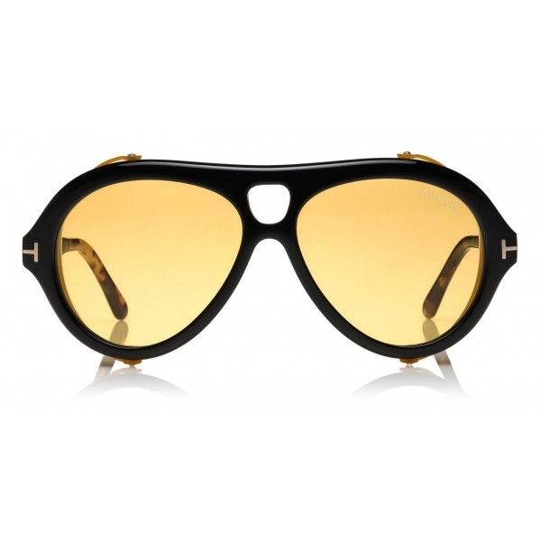 Tom Ford - Neughman Sunglasses - Round Sunglasses - Black - FT0882 - Sunglasses - Tom Ford Eyewear