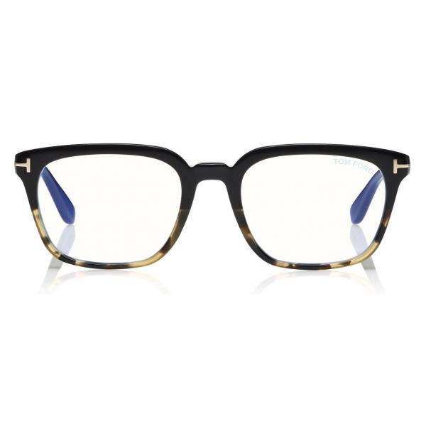 Tom Ford - Clark Sunglasses - Occhiali da Sole Pilota - Oro Rosa - FT0823 - Occhiali da Sole - Tom Ford Eyewear