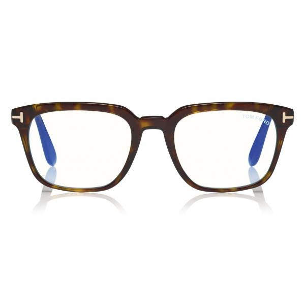 Tom Ford - Blue Block Glasses - Occhiali da Vista Quadrati - Nero - FT5626-B - Occhiali da Vista - Tom Ford Eyewear
