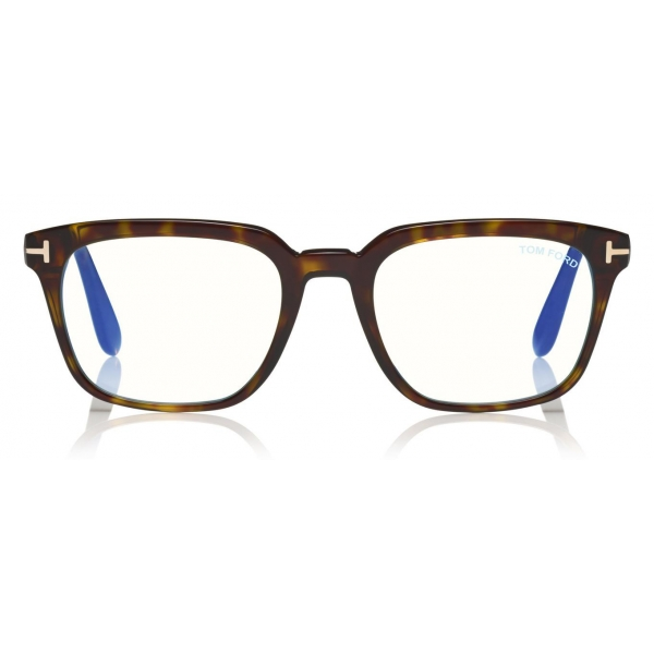 Tom Ford - Blue Block Glasses - Square Optical Glasses - Black - FT5626-B – Optical Glasses - Tom Ford Eyewear