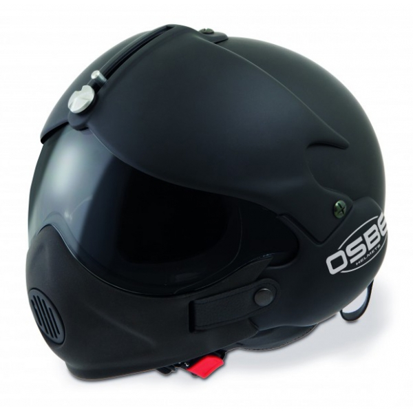 Osbe Italy - Tornado M.P.S. - Matt Black - Motorcycle Helmet - Covid-19 - High Quality - Made in Italy