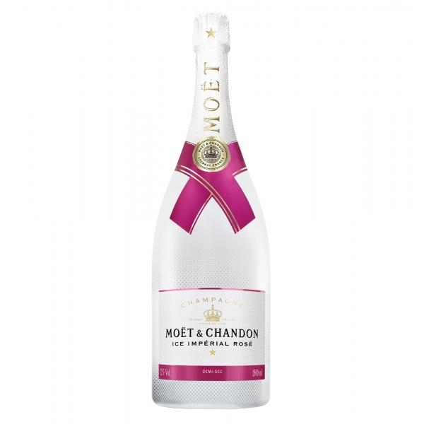 Moët & Chandon Champagne - Ice Impérial Rosé - Magnum - Pinot Noir - Luxury Limited Edition - 1,5 l