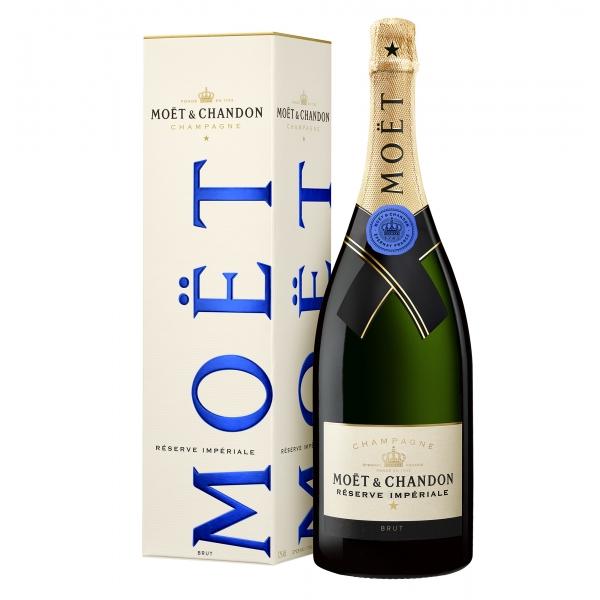 Moët & Chandon Champagne - Réserve Impériale - Magnum - Astucciato - Pinot Noir - Luxury Limited Edition - 1,5 l