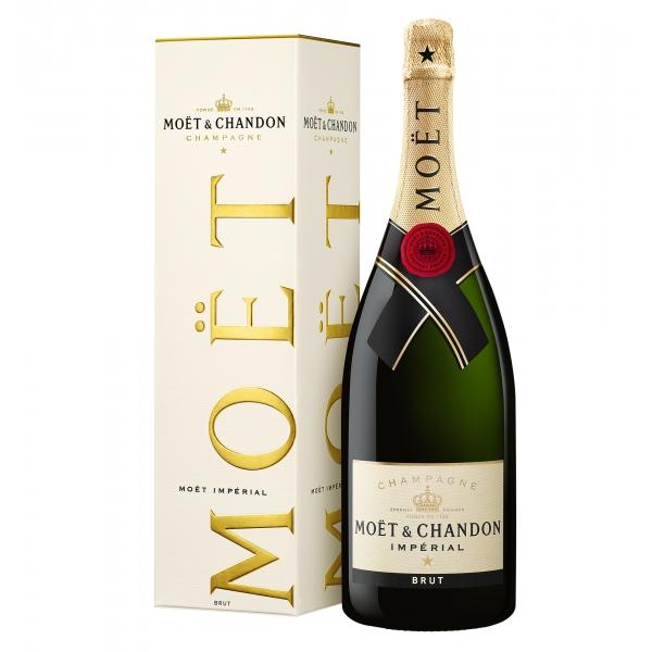 Moët & Chandon Champagne - Moët Impérial - Brut - Magnum - Astucciato - Pinot Noir - Luxury Limited Edition - 1,5 l
