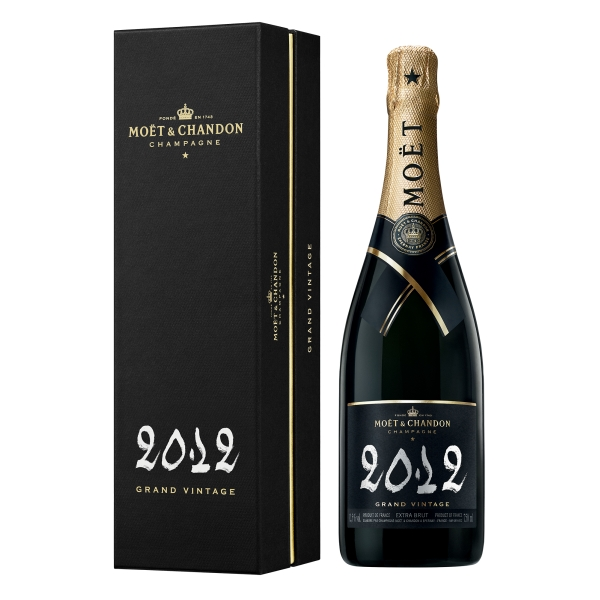 Moët & Chandon Champagne - Grand Vintage 2012 - Coffret Box - Pinot Noir - Luxury Limited Edition - 750 ml