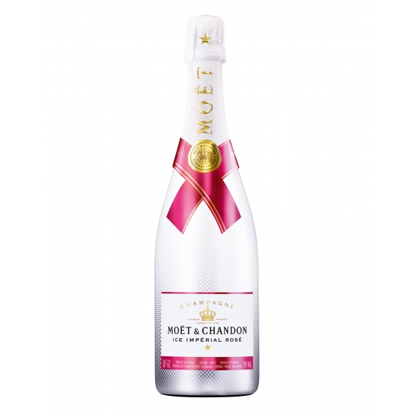 Moët & Chandon Champagne - Ice Impérial Rosé - Leaflet - Pinot Noir - Luxury Limited Edition - 750 ml