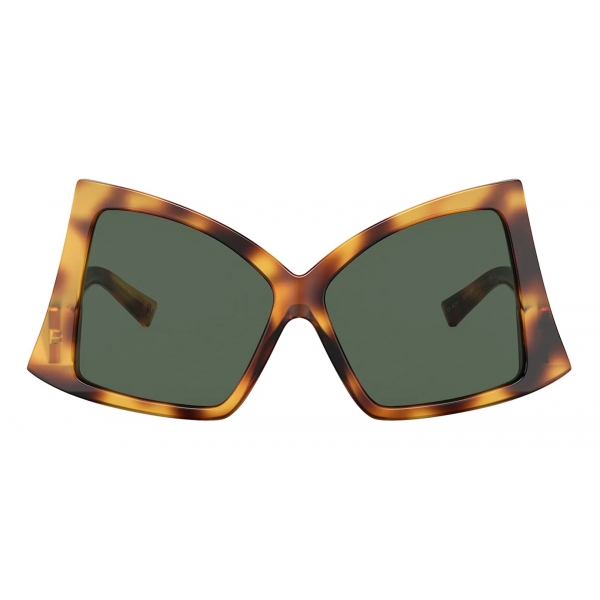 Valentino - VLTN Frameless Mirrored Sunglasses - Blue - Valentino Eyewear