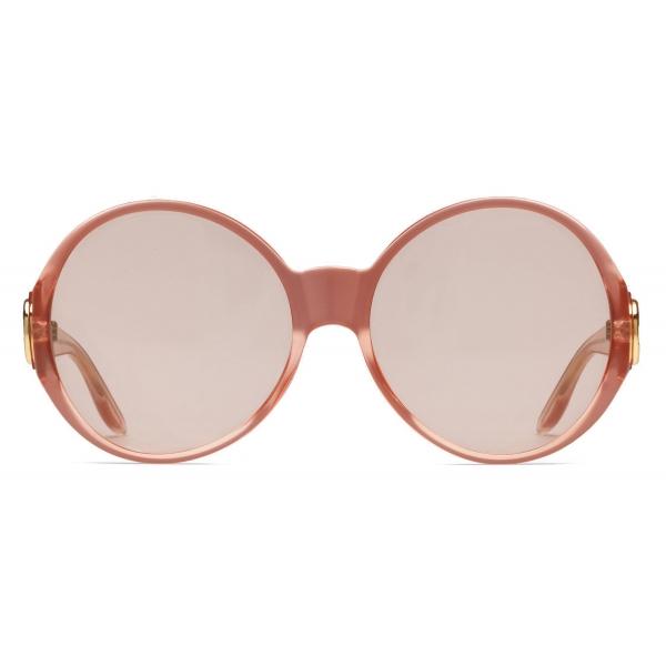 Gucci - Occhiali da Sole Rotondi - Arancione - Gucci Eyewear
