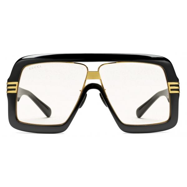 Gucci - Occhiali da Sole Quadrati - Tartaruga Marrone Chiaro - Gucci Eyewear
