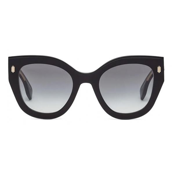 Fendi - Fendi Roma - Occhiali da Sole Cat-Eye - Nero - Occhiali da Sole - Fendi Eyewear