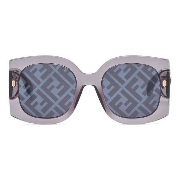 Fendi - Fendi Roma - Cat-Eye Sunglasses - Black - Sunglasses - Fendi Eyewear