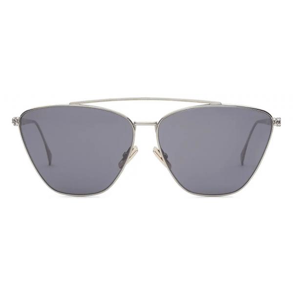 Fendi - Baguette - Occhiali da Sole Cat-Eye - Grigio - Occhiali da Sole - Fendi Eyewear