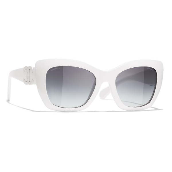Chanel - Cat-Eye Sunglasses - Purple Gray - Chanel Eyewear