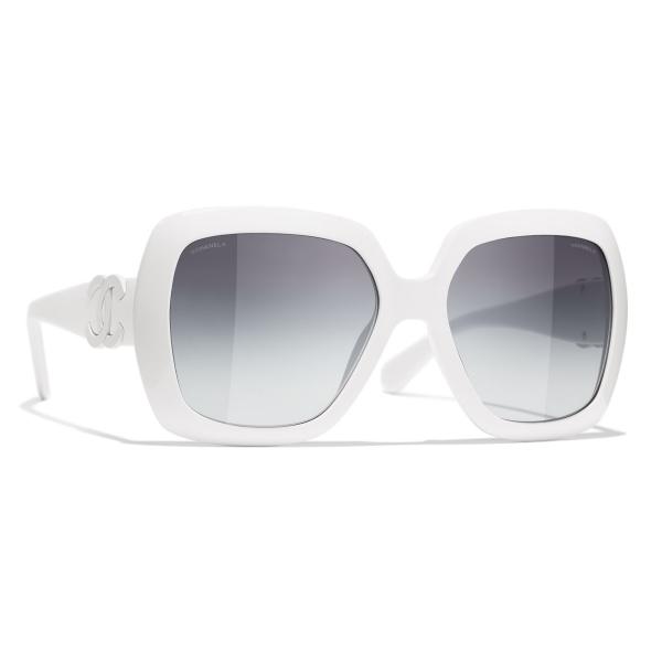 Chanel - Occhiali da Sole Quadrati - Viola Grigio - Chanel Eyewear