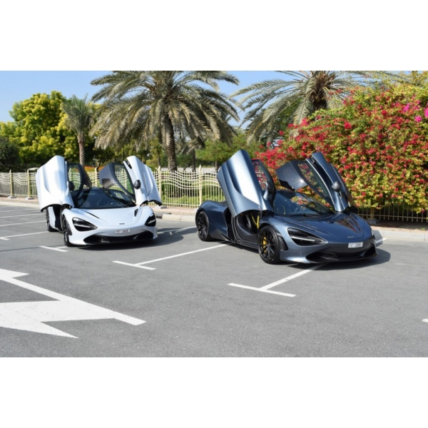 Superior Car Rental - McLaren 720S - Exclusive Luxury Rent