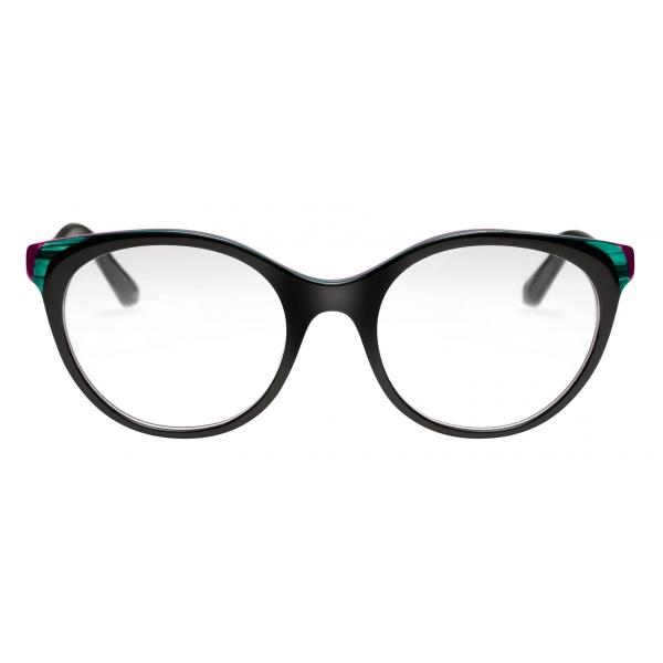 Bulgari - Serpenti - Occhiali da Vista Back to Scale con Montatura Panthos in Acetato - Multicolore - Bulgari Eyewear