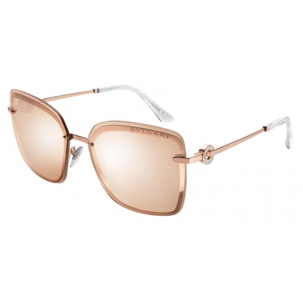 Bulgari - Serpenti - Back to Scale Acetate Panthos Sunglasses - Multicolor - Serpenti Collection - Sunglasses - Bulgari Eyewear