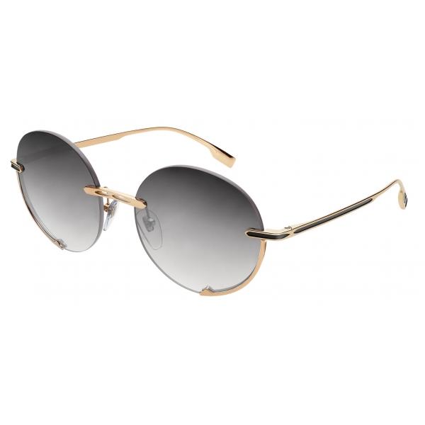 Bulgari - Bulgari Bulgari - On-Me Metal Cat-Eye Sunglasses - Cherry - Bulgari Bulgari Collection - Sunglasses - Bulgari Eyewear