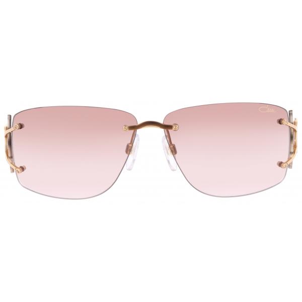 Cazal - Vintage 9095 - Legendary - Cream Rose Gold Brown - Sunglasses - Cazal Eyewear