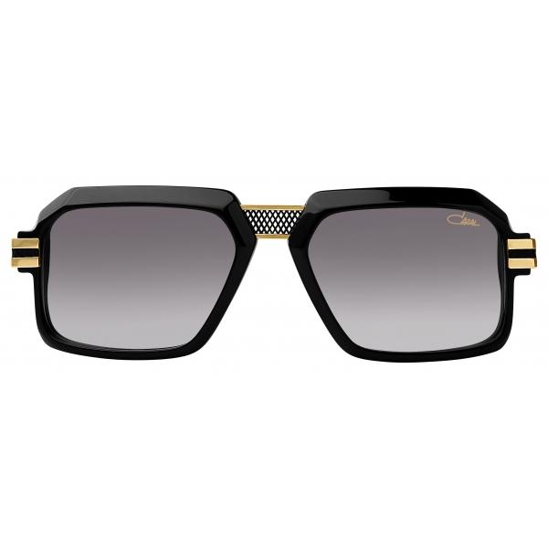 Cazal - Vintage 6025 3 - Legendary - Black Gold Grey - Sunglasses - Cazal Eyewear