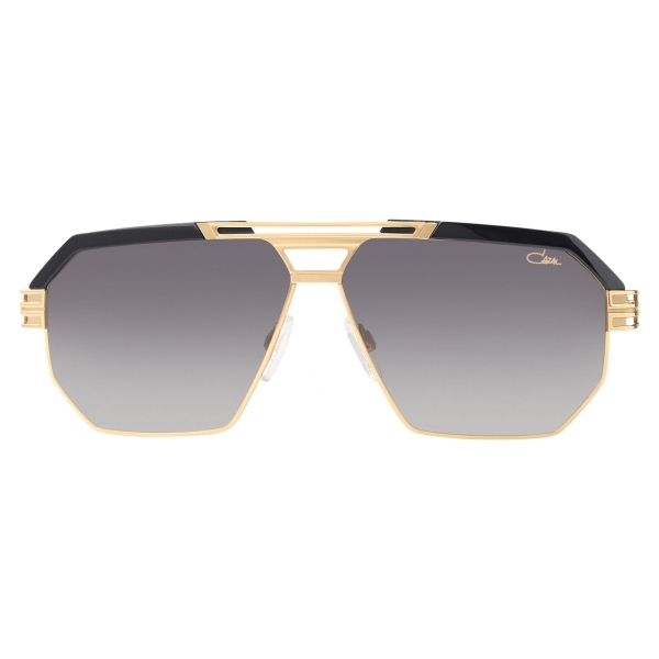 Cazal - Vintage 8039 - Legendary - Nero Argento Verde - Occhiali da Sole - Cazal Eyewear