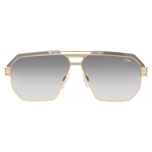 Cazal - Vintage 9082 - Legendary - Black Gold Grey - Sunglasses - Cazal Eyewear